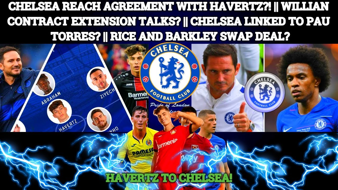 CHELSEA ON THE VERGE OF SIGNING HAVERTZ?! || WILLIAN CONTRACT EXTENSION TALKS! || PAU TORRES LINKED?
