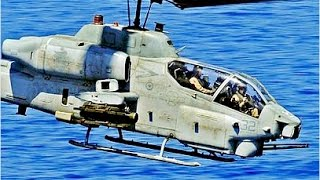 OLD BUT GOOD !!! US Military AH-1 Super Cobra Military Helicopter