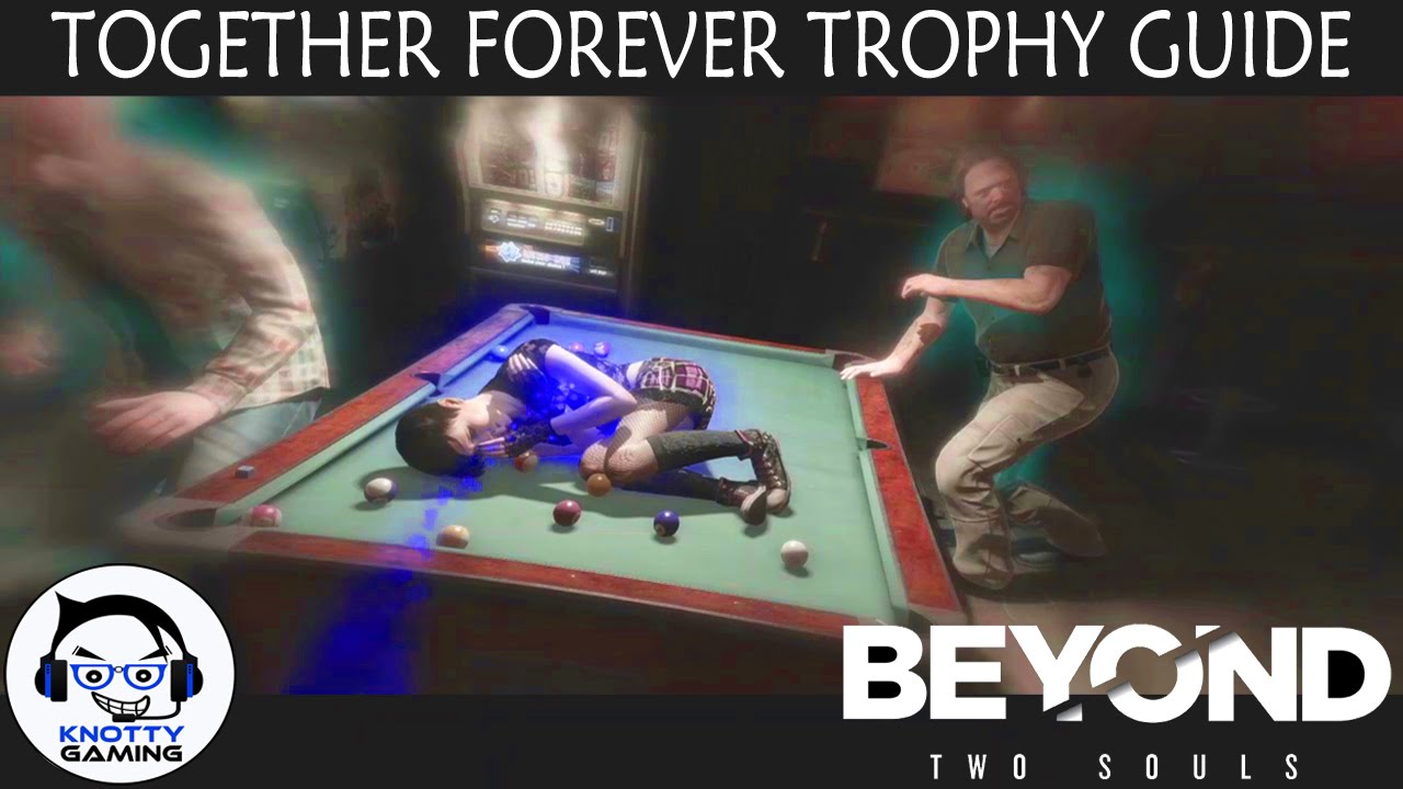 The End trophy in Beyond: Two Souls