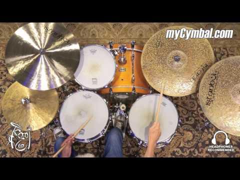 "Istanbul Agop 20"" Turk Crash Cymbal - 1667g - Played by Tom Lonardo (TC20-1070916H)"