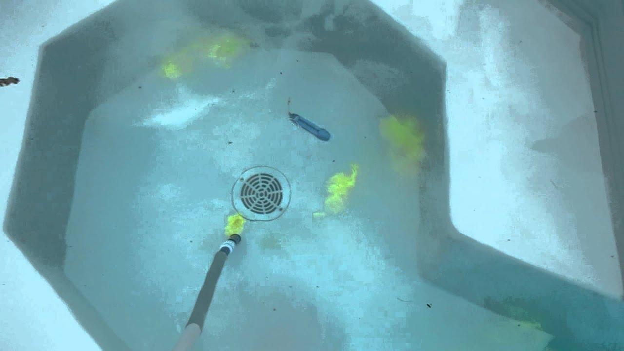 detecteur de localisation fuites piscinespa - Colorant Pour Fuite Piscine