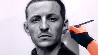 Drawing Chester Bennington from Linkin Park Art Drawing Video - See description for my Art Tools
