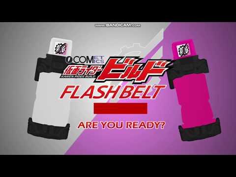Kamen Rider Build Flash Belt Dog, Mic, Detective, USB Memory, Doctor and Game Added