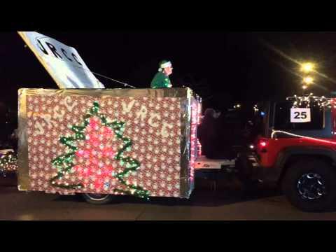 Holiday Dazzle Parade Jamestown