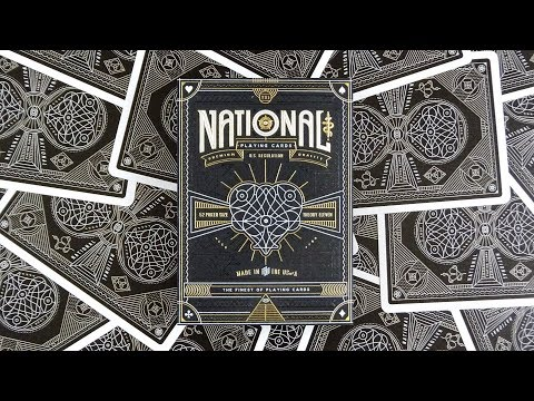 National Playing Cards By Theory11 | Deck Review -Display