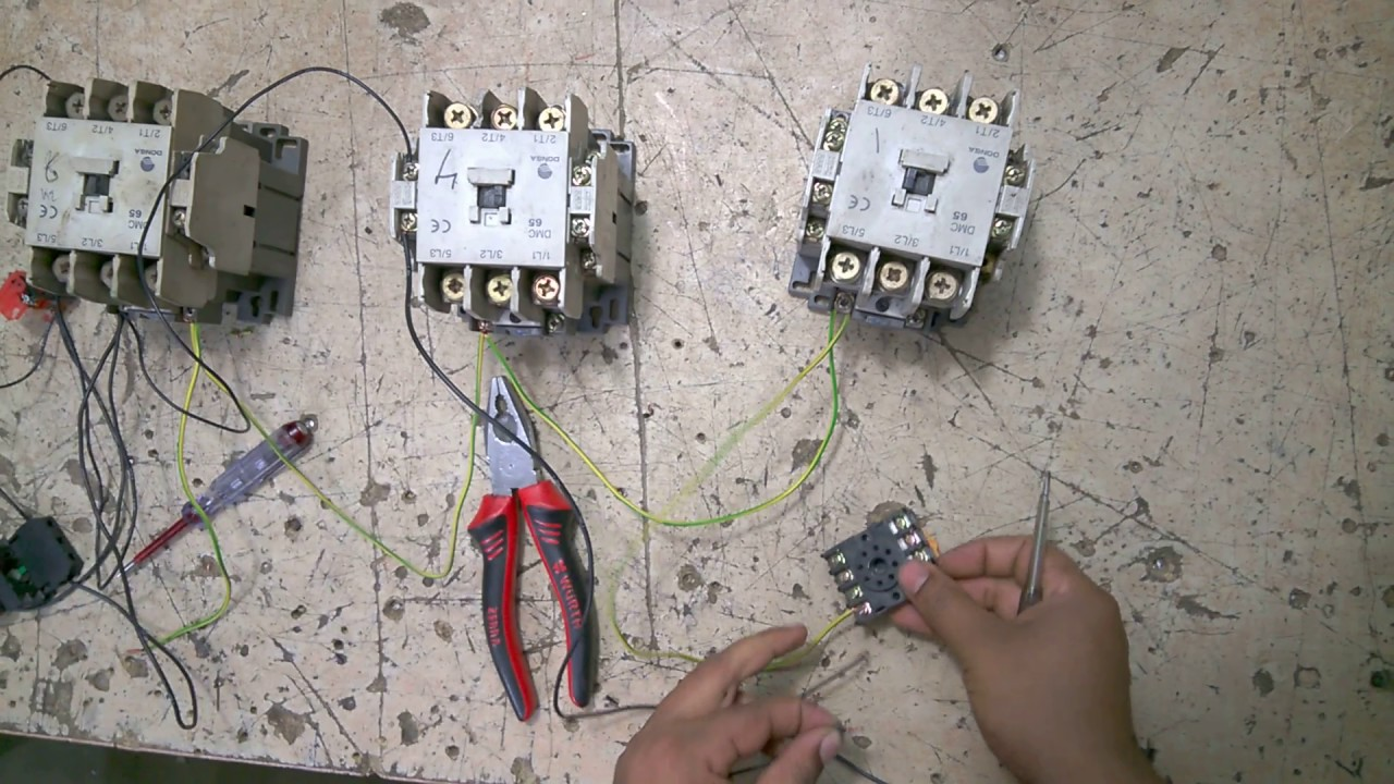 How To Make Auto Star Delta Starter Motor Control Diagram In Bangla Electric Wiring Electrical 360
