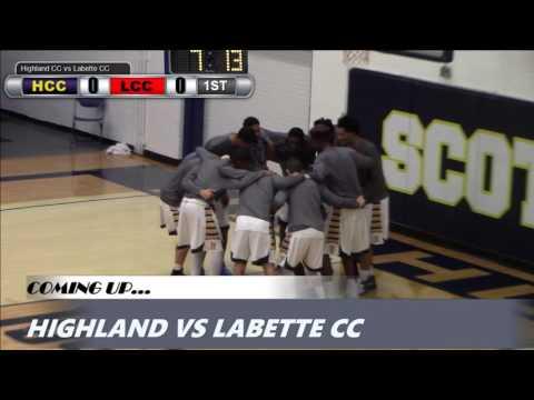 2017 Highland Men's Basketball vs. Labette CC