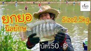 ยกยอน้ำหลง Fishing lifestyle Ep.75