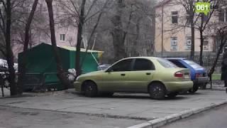 В Запорожье выпал первый снег