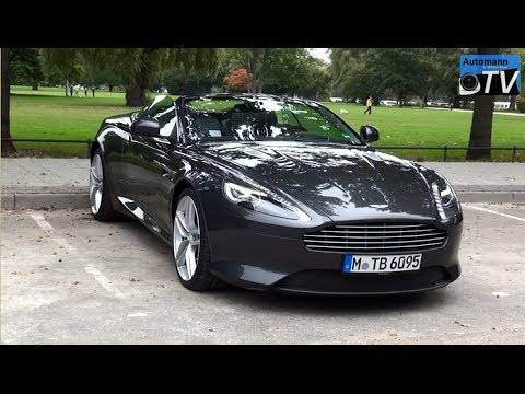 2014 Aston Martin DB9 Volante (517hp) - DRIVE & SOUND (1080p FULL HD)