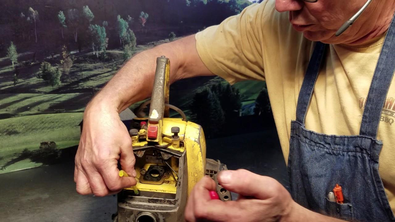the chainsaw guy shop talk mccullough 10 10 fuel line repair [ 1280 x 720 Pixel ]