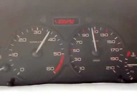 Ситроен берлинго 1,9д максимальная скорость, динамика