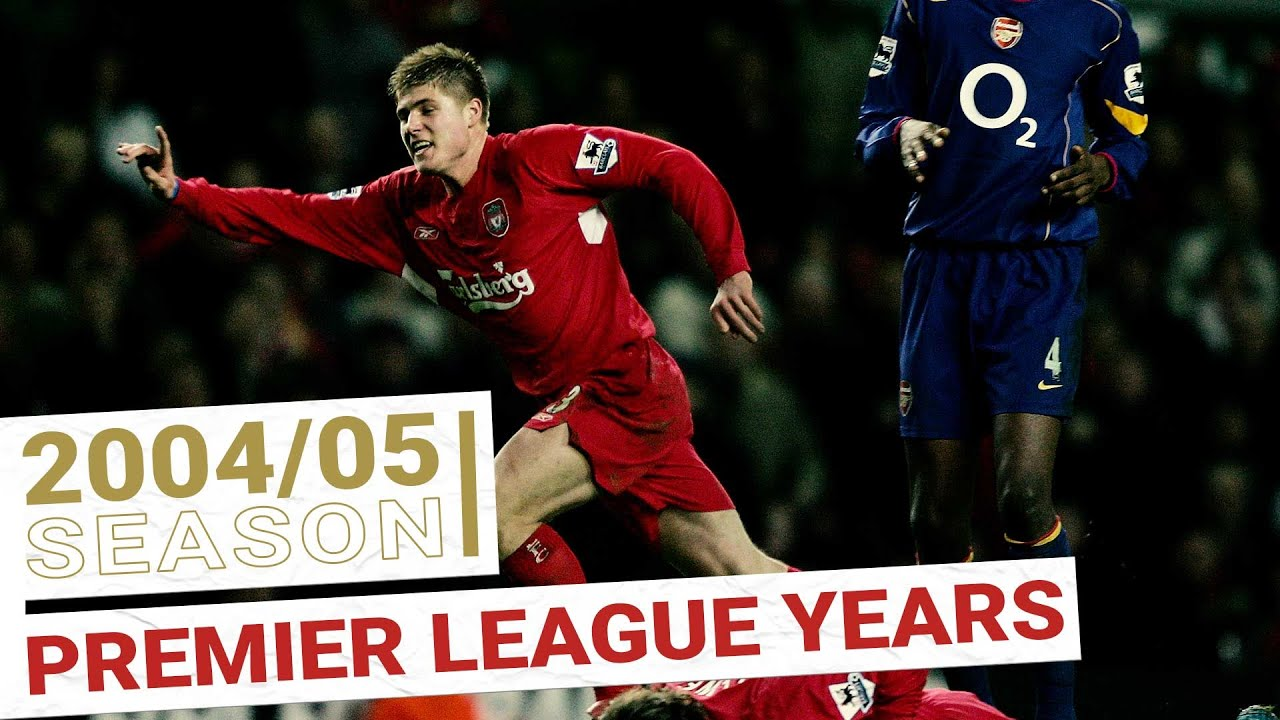 Every Premier League Goal 2004/05 | Xabi Alonso & Luis Garcia arrive on the scene