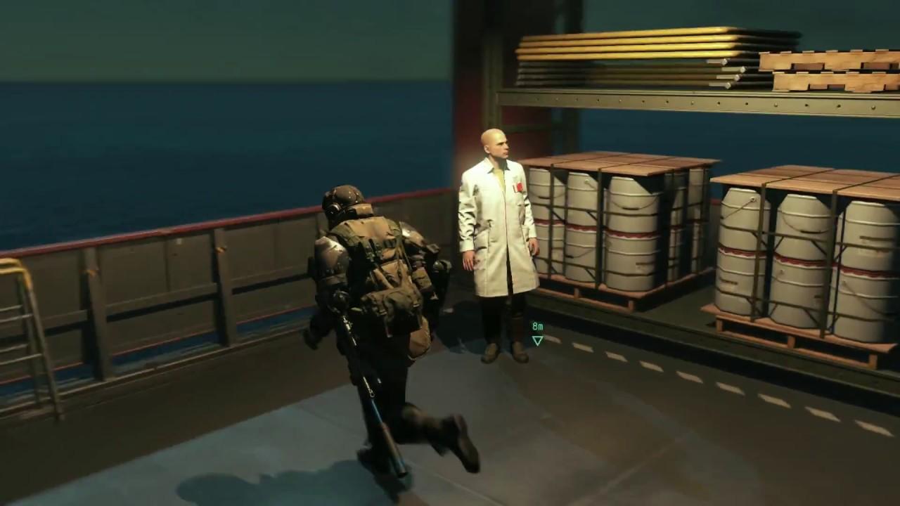 Additional NPCs - Infinite Heaven mod - MGSV