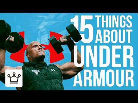 15 Things You Didn't Know About UNDER ARMOUR