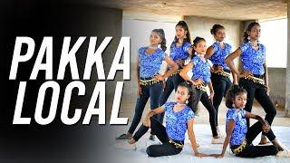 "Pakka Local |""Janatha Garage""| Dance Choreography | Dzone Crew | Karnataka"