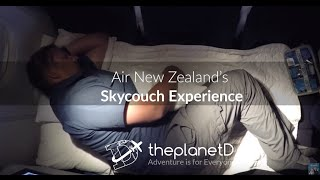 Air New Zealand Sky Couch Experience