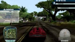 Test Drive Unlimited Fastest Car(Koenigsegg CCR hitting 474 km/h)