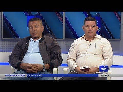 Entrevista a Hilario Ruiz y Víctor Ramos, sobre los transportistas veraguenses encadenados