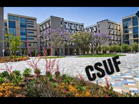 Campus Tour of Cal State Fullerton - YouTube on