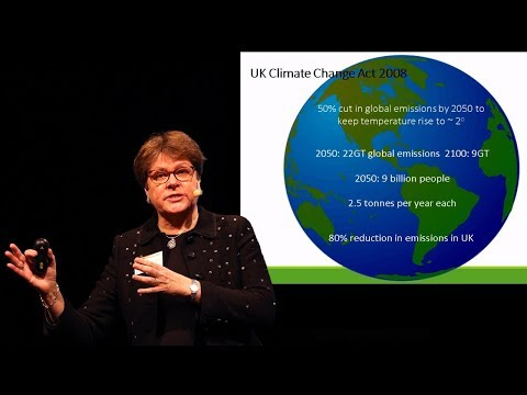Dame Julia King: Electric vehicles in a sustainable energy system