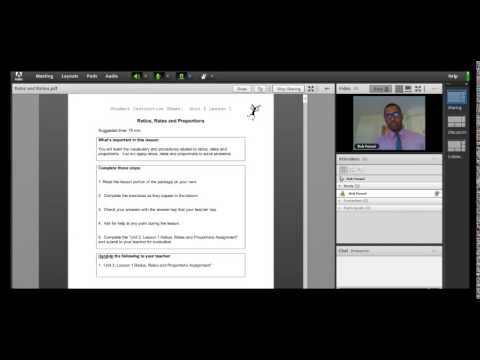 Webinar with Adobe Connect