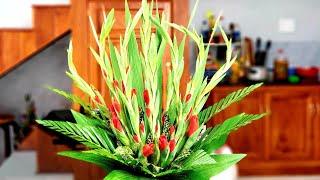 Cắm Hoa Bàn Thờ ❤ Cắm Bình Hoa Lay Ơn Ngày Tết ❤ Món Ăn Ngon Nhà Nấu ❤