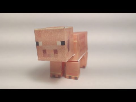 Minecraft papercraft collection
