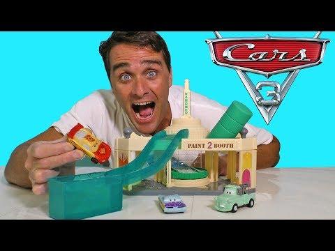 Cars Ramone's Color Changer Garage ! || Disney Toy Review || Konas2002