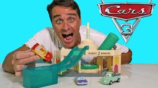 Cars Ramone's Color Changer Garage ! || Disney Toy Review || Konas2002