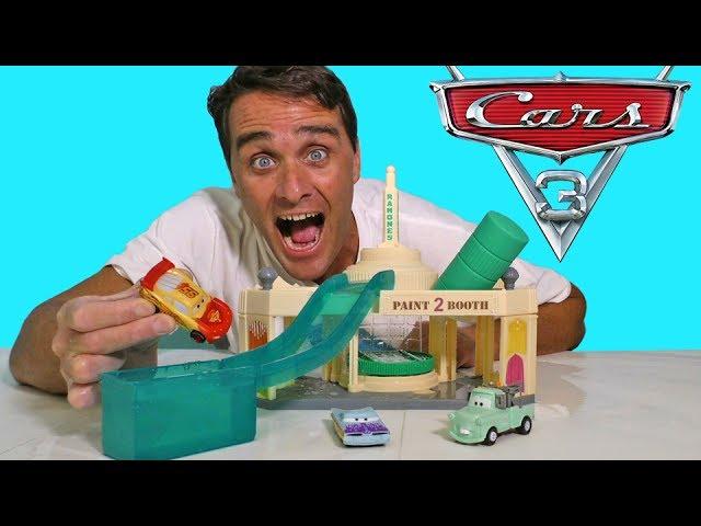 Cars Ramone's Color Changer Garage !    Disney Toy Review    Konas2002