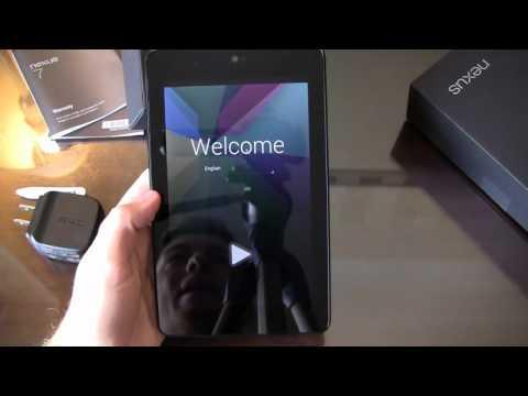 Google Nexus 7 Unboxing