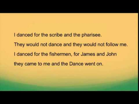 Lord of the Dance Song with Lyrics (Sydney Carter)