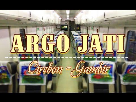 Indonesian Train Trip : Cirebon to Gambir by Train - Naik Kereta Api Eksekutif Argo Jati