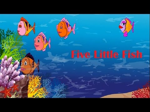 Five Little Fish Song | Nursery Rhyme | Baby Songs
