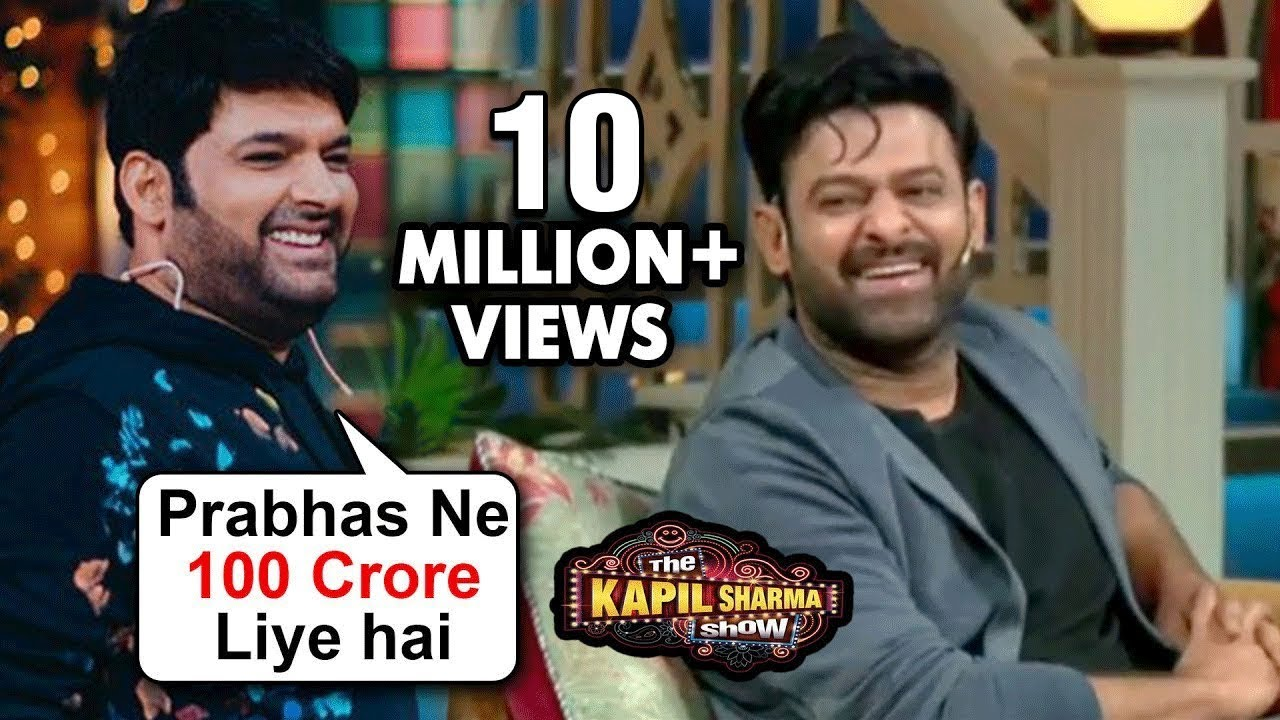 Kapil Sharma HILARIOUS Comedy With Prabhas And Shraddha Kapoor | Saaho | The Kapil Sharma Show