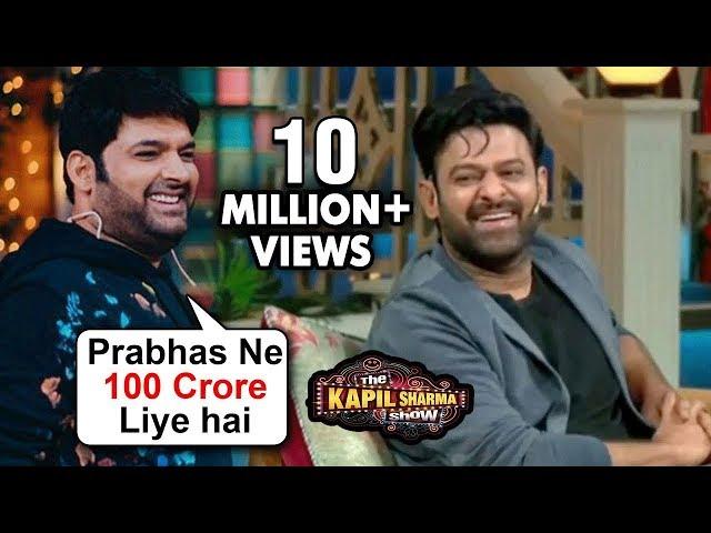 Kapil Sharma HILARIOUS Comedy With Prabhas And Shraddha Kapoor | Saaho | The Kapil Sharma Show