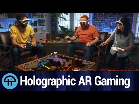 The Tech Behind Tilt Five's Holographic AR Gaming System