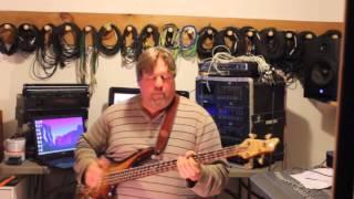 Crazy fast slap bass solo, insane