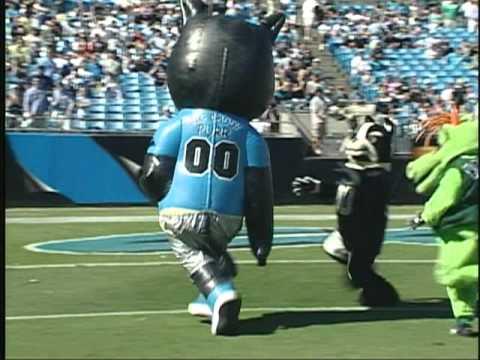 Carolina Panthers Mascot Bowl XII
