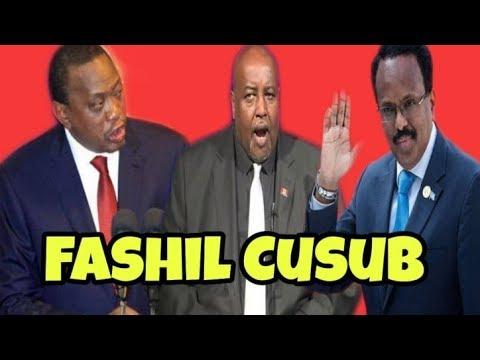 DAAWO :Weriye Cagmadhige Oo Dhulka Ku Jiiday Uhuru Kenyatta Kiiska Badda Ee Somalia