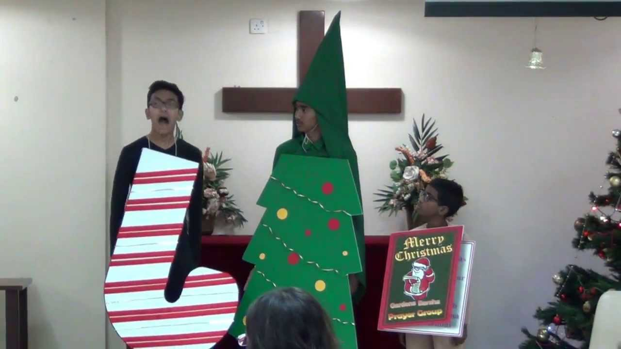 Christmas Jesus Is The Reason For The Season Skit By Dmtc Kids Teens Youtube