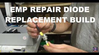 How to build a EMP replacement Diode for a solar array by Off Grid Contracting