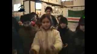 Тамила Сагаипова поет про войну в Чечне