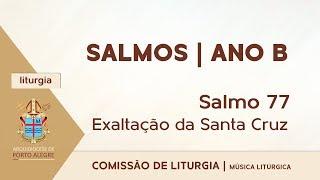 Salmo 77 | Exaltação Santa Cruz | Ano B