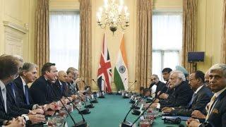 LIVE: Narendra Modi meets David Cameron for delegation level talks