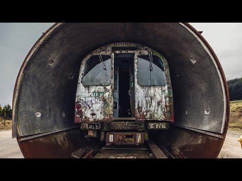 ABANDONED LONDON UNDERGROUND TRAIN