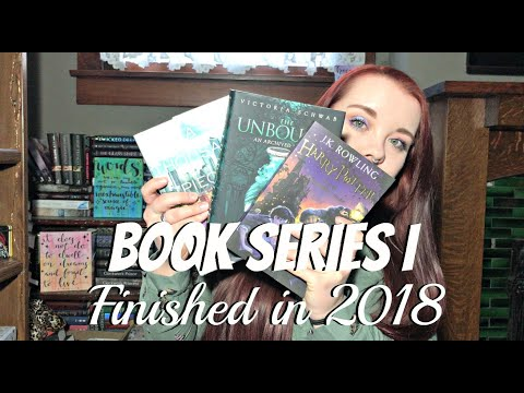 Every Book Series I Finished In 2018