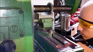 Фрезеровка на НГФ-110 (делаю подвижную губку тисков, часть 2)