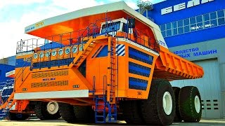 TOP 5 Largest  DUMP TRUCKS in The World. The World's Biggest Mining HAUL TRUCKS.